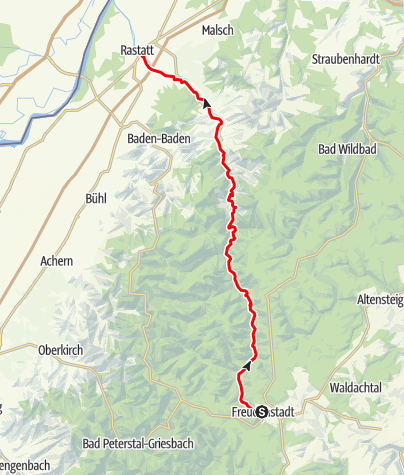 Map / Familienradweg Tour de Murg