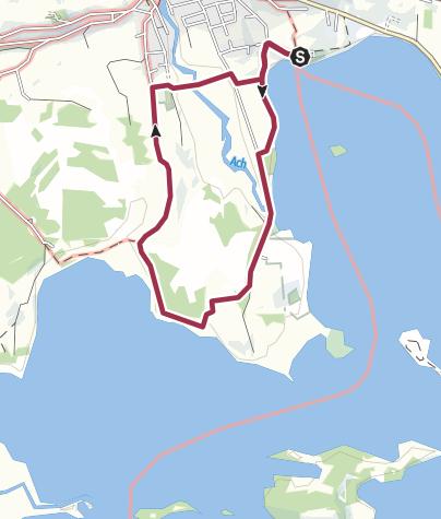 Map / Hike - Small Staffelsee loop