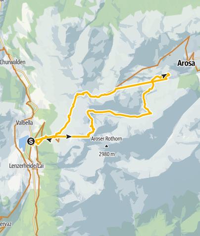 Map / GPS Älplisee - Tour