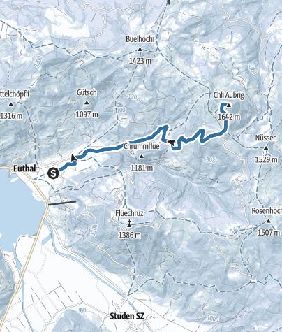 Karte / Chli Aubrig