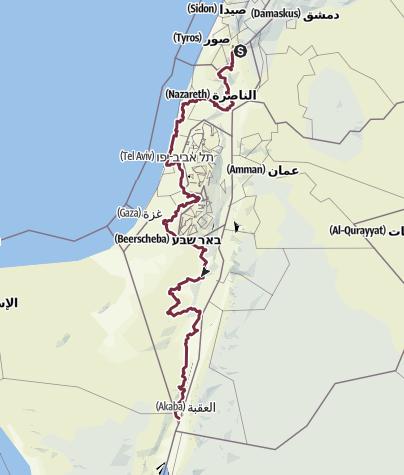 מפה / שביל ישראל