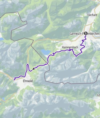 Karte / GORE-TEX® TRANSALPINE-RUN 2016 1. Etappe