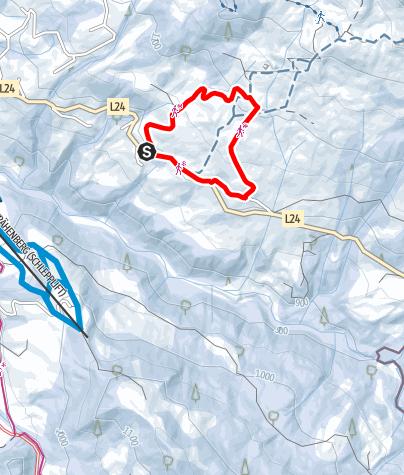Karte / Sibratsgfäll | Georunde