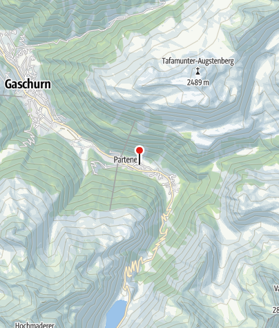 Karte / Montafonerhaus Berg-Glück