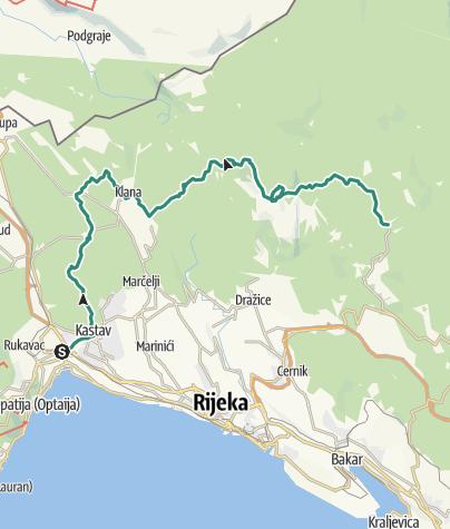 Map / HR-B-04 Grobničke Alpe