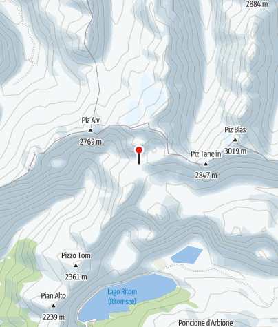 Karte / Capanna Cadlimo