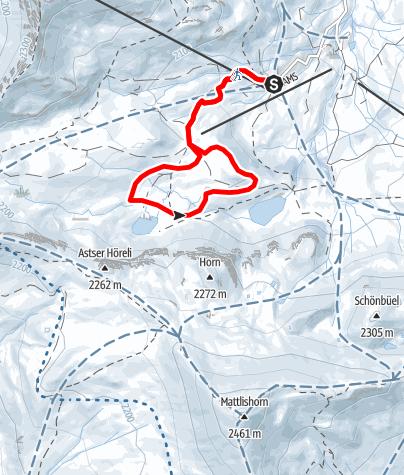 Map / Rundtour Clunersee (markierter Trail)
