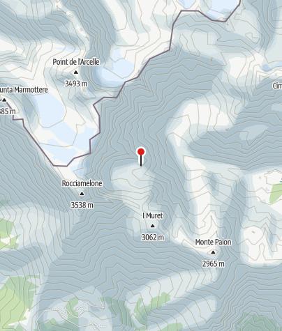 Map / Rifugio Tazetti