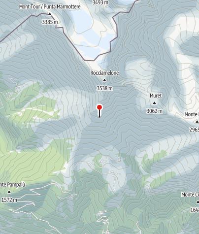 Map / Rifugio Ca d'Asti