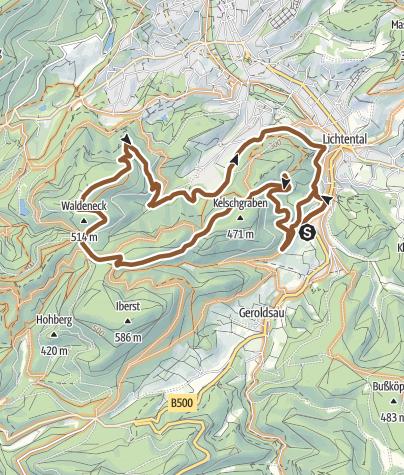 Karte / Leisberg-Trail