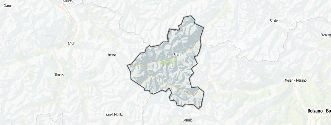 Karte / Essen und Trinken in Scuol Samnaun Val Müstair