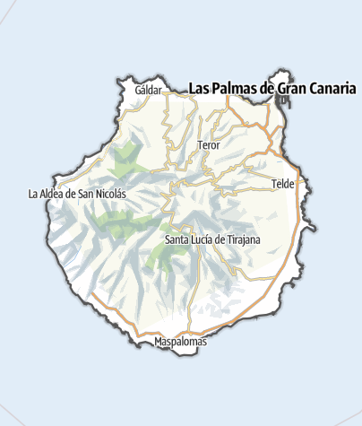 Karte / Gran Canaria