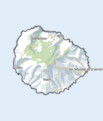 Map / La Gomera