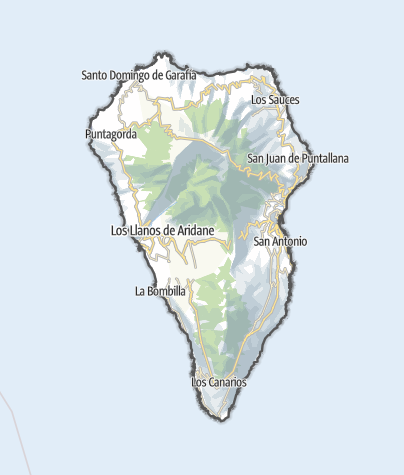 Karte / La Palma