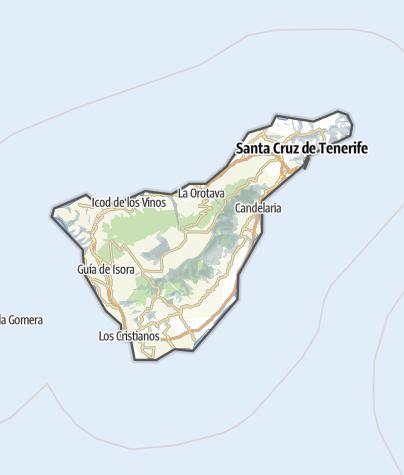 Karte / Teneriffa