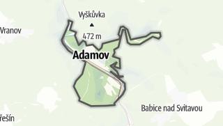 Karte / Adamov