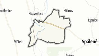 מפה / Žákava