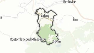 地图 / Žalany