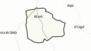 地图 / Alcanó