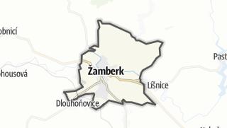 Hartă / Žamberk