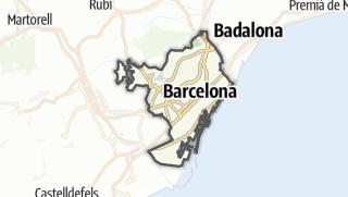 地图 / Barcelona