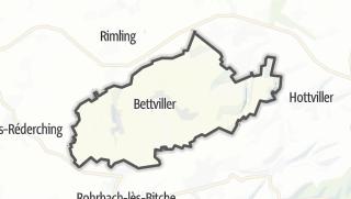 Mapa / Bettviller