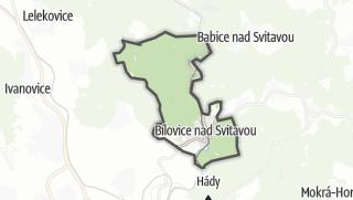 Karte / Bílovice nad Svitavou