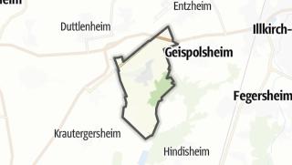 Mapa / Blaesheim