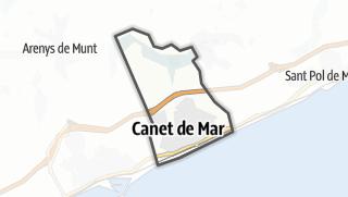 地图 / Canet de Mar