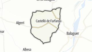 地图 / Castelló de Farfanya