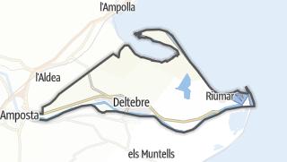 地图 / Deltebre