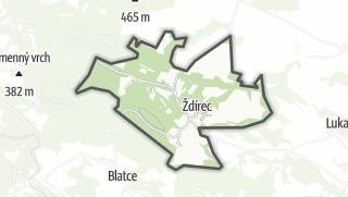 Mapa / Ždírec