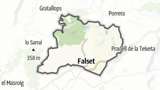 地图 / Falset