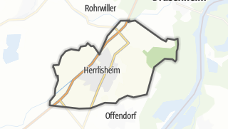 Cartina / Herrlisheim
