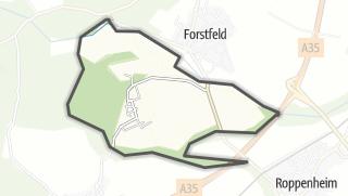 Mapa / Kauffenheim