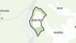 Karte / Labská Stráň