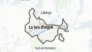 地图 / la Seu d'Urgell