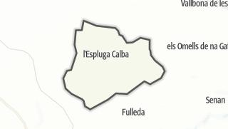 地图 / l'Espluga Calba