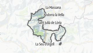 地图 / les Valls de Valira