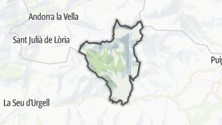 地图 / Lles de Cerdanya