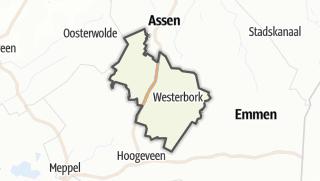 מפה / Midden-Drenthe