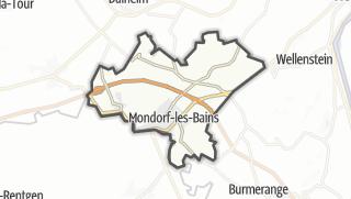 Mapa / Mondorf-les-Bains
