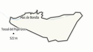 地图 / Montornès de Segarra