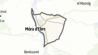 地图 / Móra la Nova
