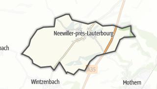 Mapa / Neewiller-près-Lauterbourg