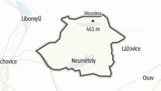 מפה / Neumětely