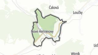Karte / Nové Heřminovy