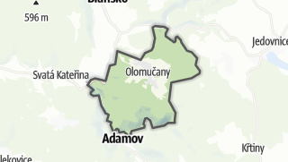 מפה / Olomucany