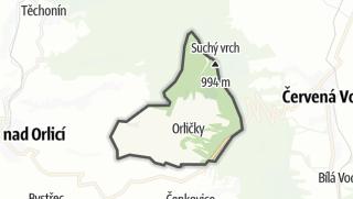 地图 / Orličky