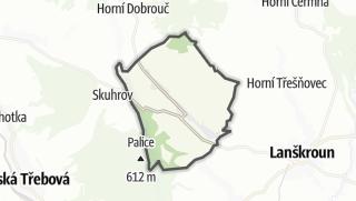 Hartă / Ostrov